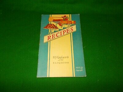 H.G.Green & Co. Recipes BOOK  1950,, NO RESERVE, SEE OTHERS