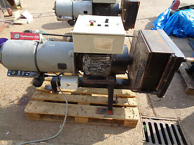 Hydrovane air compressor 20HP 80CFM 8bar 3 phase shot blasting VH01MEDA2