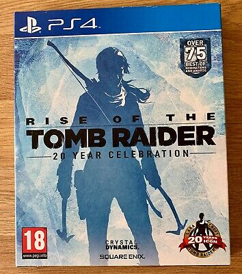 PS4 Playstation Rise of the Tomb Raider 20 Year Collection FREE POSTAGE