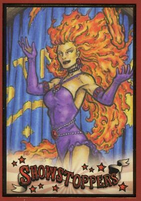 DC Comics Bombshells 3 Showstoppers Chase Card SH5 Starfire