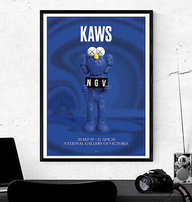 Kaws Hypebeast Poster Print - Wall Art Decor - Various Sizes #Charity