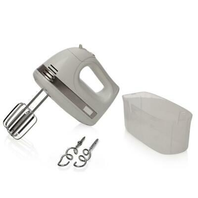 Haden 183392 Chester White Hand Mixer, Five Speeds + Turbo Function, Includes Be