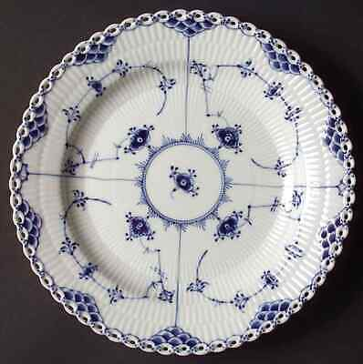 Royal Copenhagen BLUE FLUTED FULL LACE Dinner Plate S5970332G2