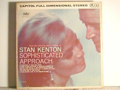 4 Track 7 1/2 - Stan Kenton - Sophisticated Approach  -   Tested