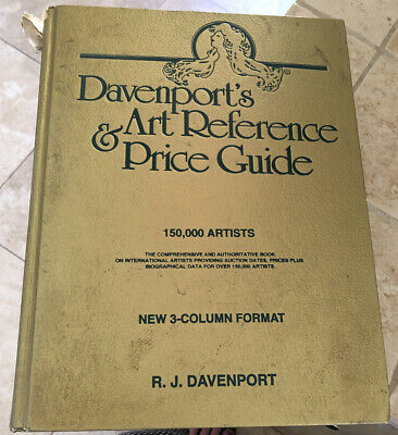 Davenport's 1996-1997 Art Reference & Price Guide New 3 Column Format