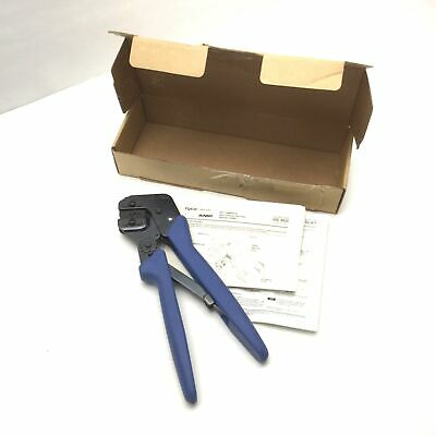 Tyco Electronics 58495-1 Portable Commercial Crimping Tool Open Barrel - F Crimp