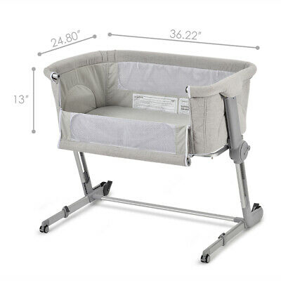 Unilove Hugme Plus, Bedside Sleeper, Includes Travel Bag, Firm Mattress