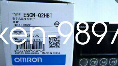 NEW IN BOX OMRON Temperature Controller E5CN-Q2HBT E5CNQ2HBT 100-240VAC