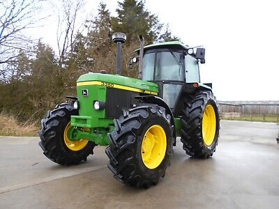 4 WD John Deere 3350 Classic Tractor Power Synchron. 40 KPH. Low Hours. Mint
