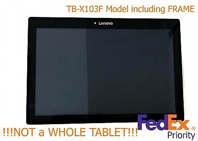 New OEM Lenovo TB-X103F ZA1U 10.1 LCD Touch Screen Tablet Assembly