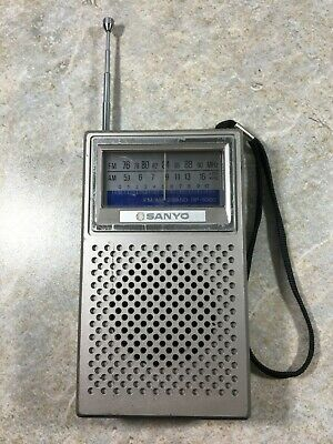 Sanyo RP-5060 AM FM Portable Radio - Works great Japan