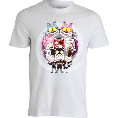 t-shirt maglietta del wgf team HORROR lyon e anna when gamers fail maglia felpa