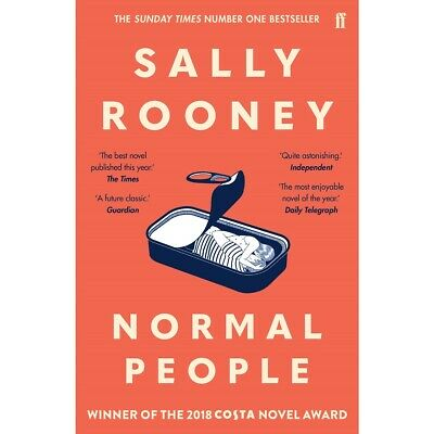 Normal People by Sally Rooney New Paperback||Free Bookmark