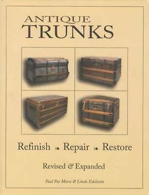 Antique Steamer Trunks Chests Refinish Restoration Book
