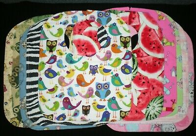 Handmade Cotton Baby Bibs L-Many Cute Prints!!!