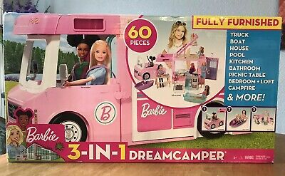 ​Barbie 3-in-1 DreamCamper, Barbie Camper Van