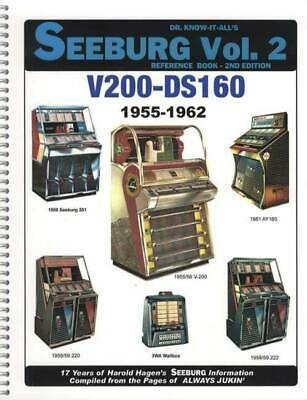 Dr Know It All's Seeburg Jukeboxes Vol 2 Reference Book Repair 1955-1962 V200-DS