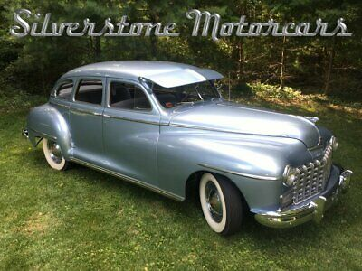1947 Dodge Custom  1947 Silver Stunning Suicide Doors Low Miles Fully Restored Great Car