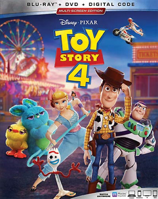 Toy Story 4 (Blu-ray Disc, 2019, 3Disc)