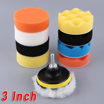 "3"" Inch Mini Buffing Pad Detailing Kit Polishing Wheel M10 Buffing Kit"