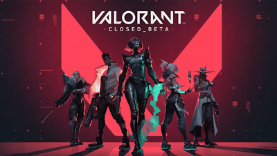 (STILL PLAYABLE) 1 Valorant Closed Beta Account/Never Used 100% #EU+Email NO BOT