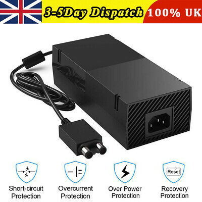 Brick Power Supply For X BOX ONE Console Main Plug Charger Cable Adapter UK!