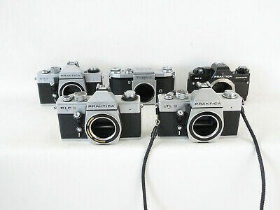 5x Analogkamera analogue camera Praktica LTL 3 PLC 2 DTL 3 FX BC 1 SLR tested