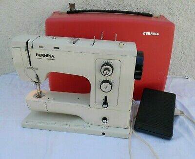 Bernina 830 Record Heavy Duty Sewing Machine in Case - Faulty - Read Description
