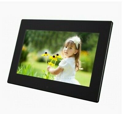 "KITVISION 10"" Digital Photo Frame + Remote Control  Plays Photos,Videos & Music"