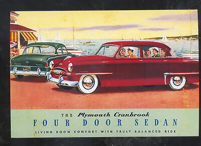 Plymouth Cranbrook 4 Layer Waterproof Car Cover 1951 1952 1953