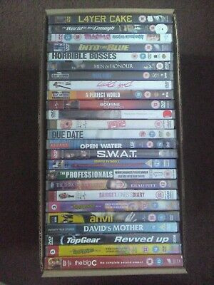 25x DVD's *NEW & SEALED* bundle joblot wholesale mixed no doubles A lot