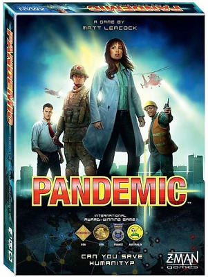Pandemic Board game - Save the Humanity