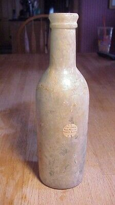 Dug Cherry Syrup Bottle Found  On Grounds Fort Craig, Nm