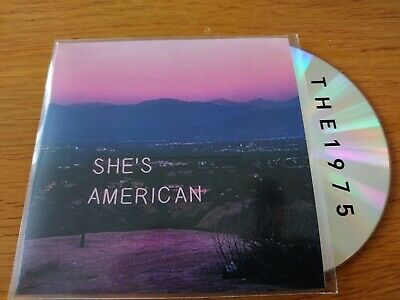 The 1975 - Shes American - As New Two Track Rare Uk  Promo Cd