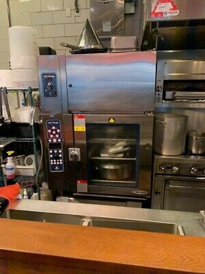 Alto-Shaam 10.18 Electric Combitherm Convection Oven Steamer With Ventless Hood