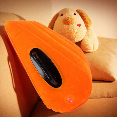 Inflatable Travel Pillow Sex Furniture Triangle Wedge Pillow Cushion Play Mat
