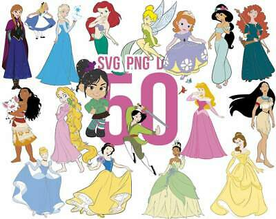 Disney Princess SVG, Disney svg, Princess svg, Disney, PNG DXF