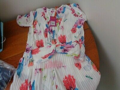 Ted Baker Girls Plisse Shorts & Top Set Age 11 years BNWT