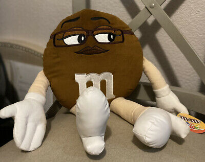 M&M Core Plush Large Plush Brown