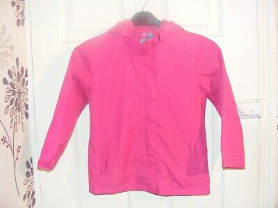 mountain warehouse pink jacket,age 7-8 yrs,ideal for everyday/summer holidays