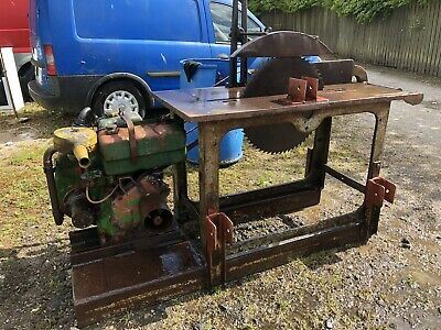 Saw Bench Lister Diesel Electric Start