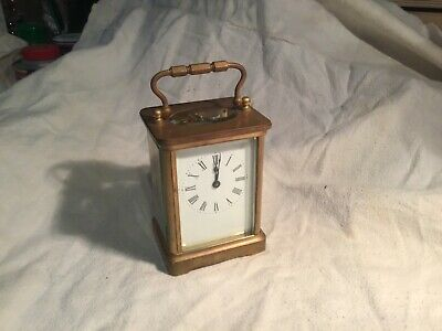 antique carriage clock clean and working