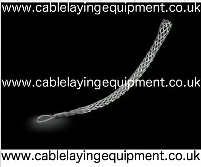 Cable Grip - Galvanised Cable Pulling Sock/Stocking - Single Eye