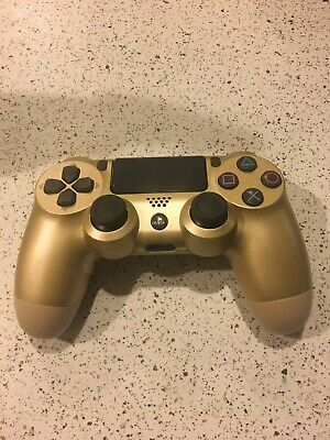 Sony Playstation 4 DualShock 4 V2 Wireless Controller - Gold