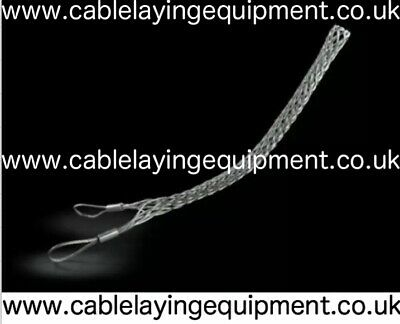 Cable Grip - Galvanised Cable Pulling Sock/Stocking - Double Eye