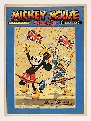 Mickey Mouse Weekly UK #May 8 1937 VG/FN 5.0