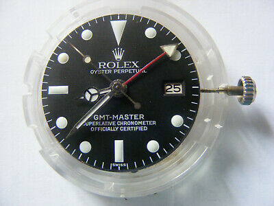 Watchmakers Estate.....original Vintage Rolex Gmt 1570 With Dial And Hands