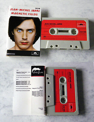 JEAN-MICHEL JARRE Magnetic Fields .. 1981 Polydor MC TOP
