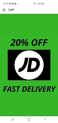 Jd Sports Voucher DISCOUNT CODE 20% OFF Instant Online only MONEY SAVING PROMO