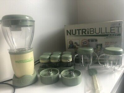 Baby Nutribullet Food Processor Blender ,DOES NOT INCLUDE 2 Easy Pop Batch Trays